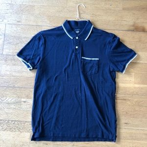 GAP Men's Knit Polo Shirt